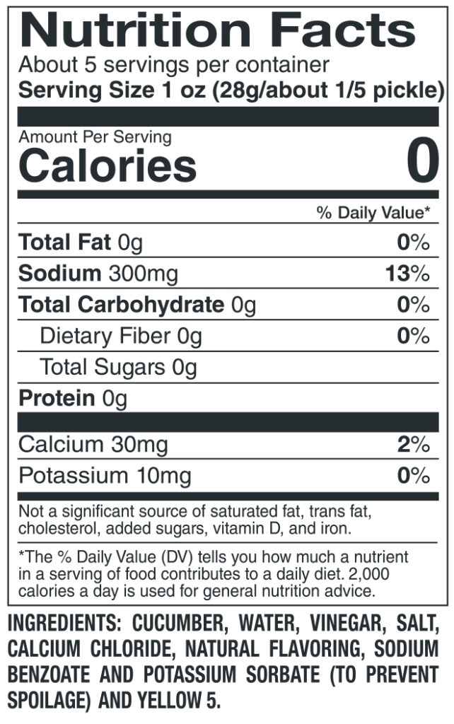612 Sour Nutrition Facts Ingredients