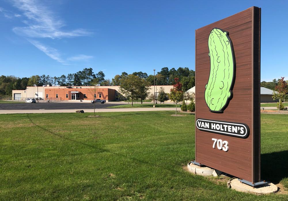 Van Holtens Building Sign